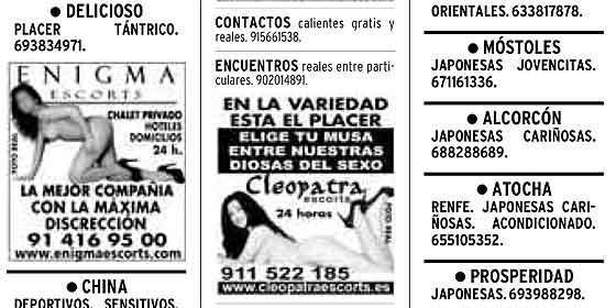 Anúncio Contacto Columbia-7206