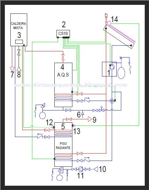 Cálculo De Vasos De Expansão Piso De Aquecimento-4416